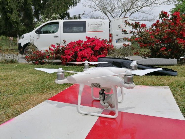 Drone et Photogrammétrie , de la qualité à la précision - DELIMIT cabinet de Géomètre-Expert en Dordogne